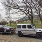Abholung des Fahrzeugs - CL 500 C140